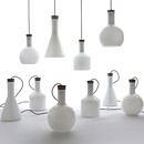LABWARE/ラブウェア Benjamin Hubert フロアライト/シーリングライト照明 ライト ランプ 試験管 電気 ビーカー 手吹き ガラス
