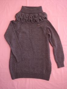 $R Dress Room-copine knit gry