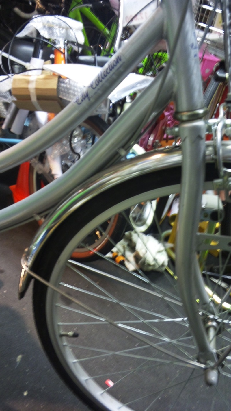通学用自転車のフロントフォーク交換の具体的な料金~実際の ...