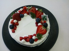 $earth cafe  vegan food&deli-クリスマスケーキ