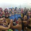 ポリネシアンイベント出演♪ 控室のテマラマガールズの画像