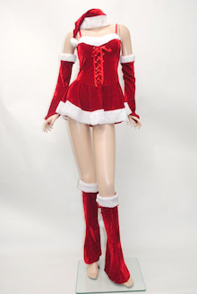 雑誌 小悪魔アゲハのアゲハ嬢ファッション・ヘア・メイク研究家!-クリスマス サンタ サンタ衣装 サンタコスチューム