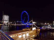 Have a cup of tea-London eye