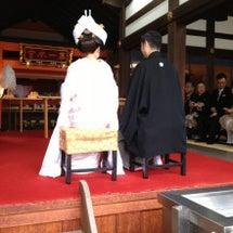 結婚式 つづき
