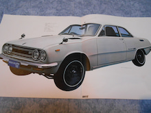 $1959PORSCHE356Aのブログ-70年12月2中白い1800GT