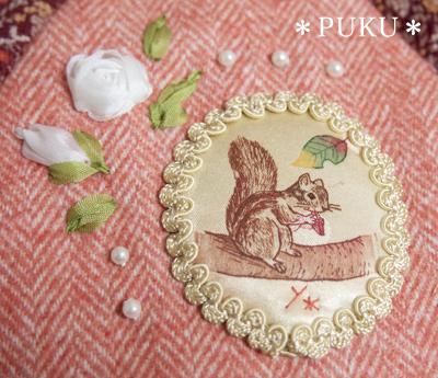 猫と絵本が好きな乙女のためのバッグと雑貨*PUKU*