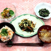 食で癒す「一汁三菜アドバイザー養成コース」海川の幸(さち)の献立の画像