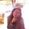 みきちゃん、もこもこくまちゃんぼうしをかぶる☆の画像