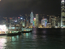 $松尾祐孝の音楽塾&作曲塾~音楽家・作曲家を夢見る貴方へ~-香港の夜景1