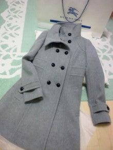 遥香の近況日記-バーバリーのコート