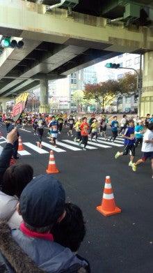 株式会社武警の警備日誌-大阪マラソン2012