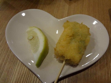 $和歌山の建築家つれづれブログ-茶碗蒸しの天ぷら