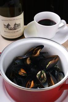 食べて飲んで観て読んだコト+レストラン・カザマ-ムール貝のマリニエール