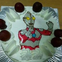 次男のお誕生日ケーキ…