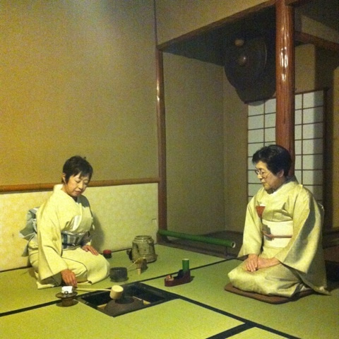 京都へお出かけ〜速水流お茶席〜...