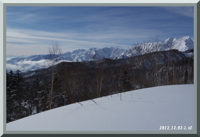ロフトで綴る山と山スキー-1202_1025