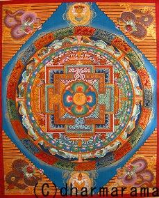 ダルマ・ラマの曼荼羅(マンダラ)の世界タンカ(仏教絵画)作家ダルマ・ラマ