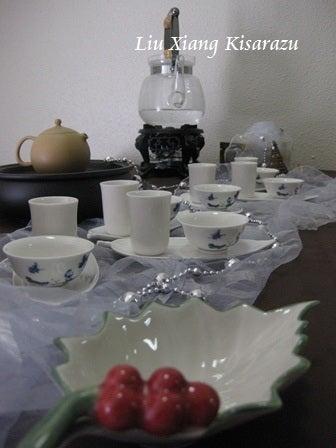 木更津市の中国茶教室 『留香茶芸』