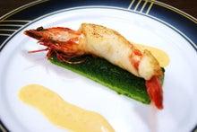 食べて飲んで観て読んだコト+レストラン・カザマ-車海老と白身魚のポピエット