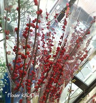 ワレモコウ~感謝 福井市のお花屋さんブログ-ウインターベリー