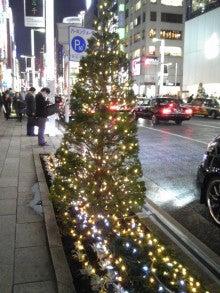 コスモちゃんの介護タクシー日記-銀座のクリスマス2