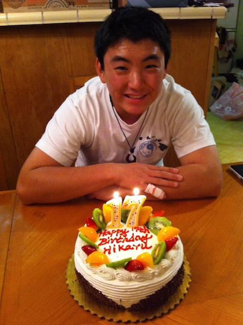 カリフォルニアのひろいそらの下で-Hikaru with B-Cake