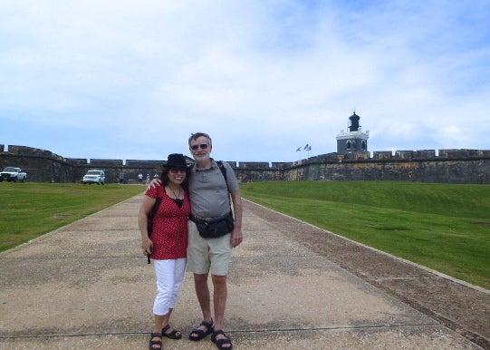 プエルトリコの要塞で世界遺産の...