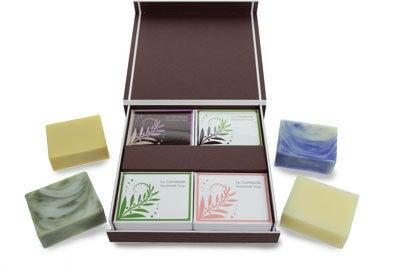 手作り洗顔石鹸専門店 La Comtesse(ラ・コンテス)のブログ-アルガン石鹸4個セット