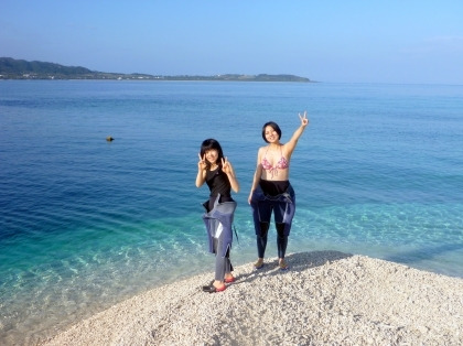 西表島ダイビング あべちゃん海ブログ  「にこにこダイビング」-バラス島上陸