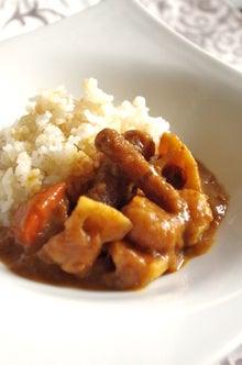 料理研究家YUKI(ゆき)の健康レシピ~食材の意外な効用・効能を知っていましたか♪~-玄米の和風根菜カレー