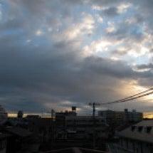 寒い朝です (>_<…