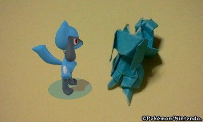 折り紙でフィギュア