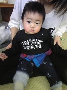YUTORI (ゆとり)のおうち@ベビーマッサージ-義人くん 10ヶ月