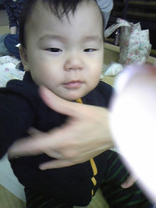 YUTORI (ゆとり)のおうち@ベビーマッサージ-健人くん 10ヶ月