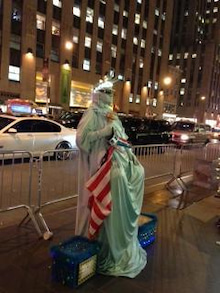 N.Y.に恋して☆-statue of liberty