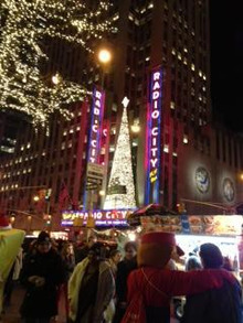 N.Y.に恋して☆-radio city music hall christmas