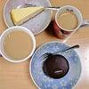 スターバックス/ザッハトルテとニューヨークチーズケーキの画像