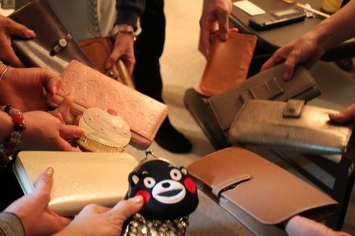 みさきのゑHAPPYになるブログ-財布の結集