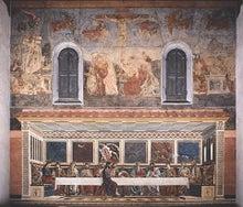 $フィレンツェの天翔船のブログ-サンタ・アポローニャ教会の最後の晩餐