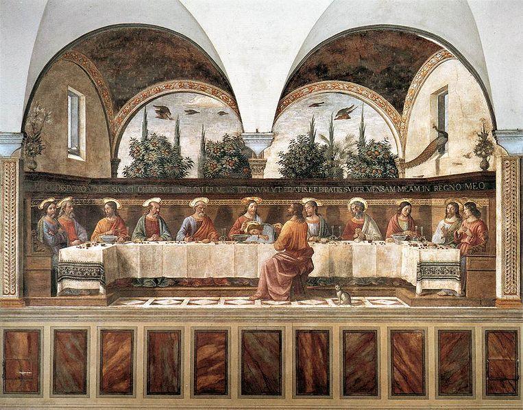 フィレンツェの天翔船のブログ-最後の晩餐 サンマルコ寺院