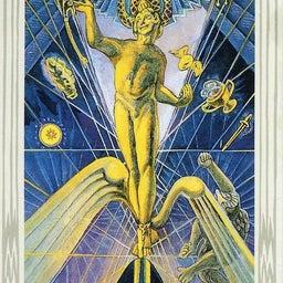 画像 トートタロット 1 魔術師 The Magus の記事より 1つ目