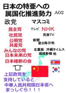 $日本人の進路-日本の中国への属国化推進勢力