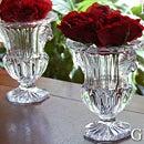 Elane イラーネ ガラスフラワーベース 花瓶 花器 アンティーク 骨董 シャビー 雑貨