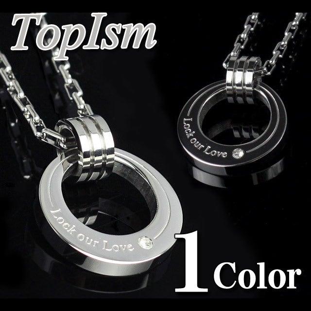$メンズファッション 通販-ステンレス ネックレス Oリング