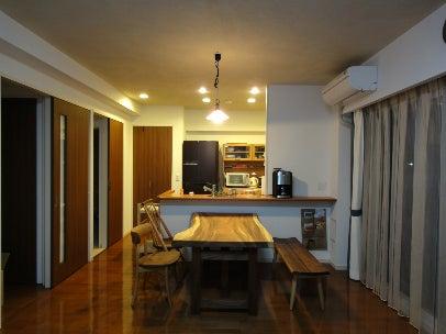 カフェの様に落ち着く・癒される部屋にリフォームして暮らす♪珪藻土・漆喰で 塗り壁施工。-マンション・本格珪藻土14