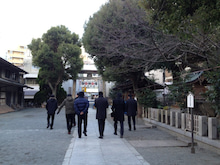 株式会社ジャパンニューハンのSTAFFブログ-2013年 神津神社 初詣