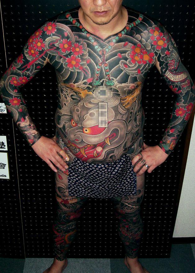 和彫りデザインの刺青 | 東京 刺青 ...