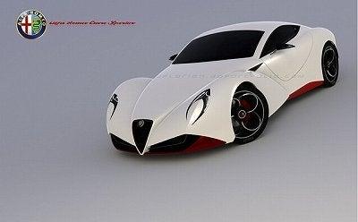 フィアット500とロックな毎日-Alfa-Romeo-6C-2