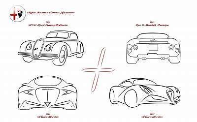 フィアット500とロックな毎日-Alfa-Romeo-6C-5