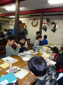 浄土宗災害復興福島事務所のブログ-20121228ふくスマ万華鏡②